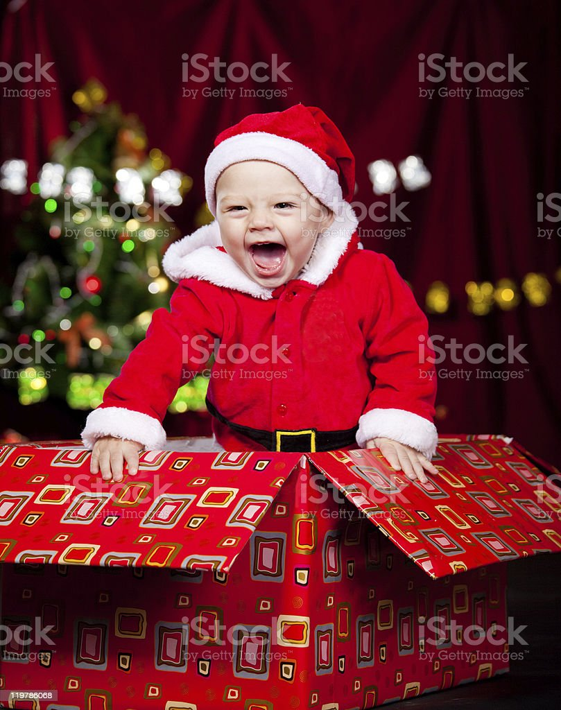 Adorable laughing kid royalty-free stock photo
