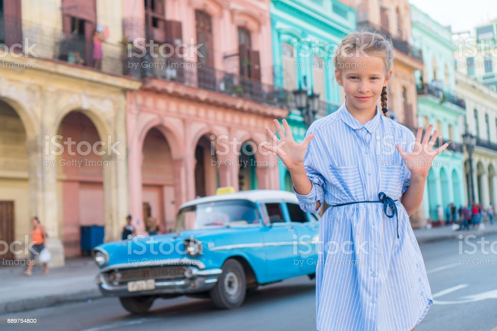 Teen girls in Cuba