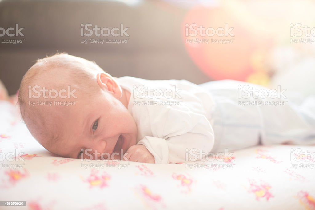 Adorable little newborn royalty-free stock photo