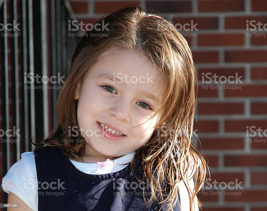 Adorable Preschooler royalty-free stock photo