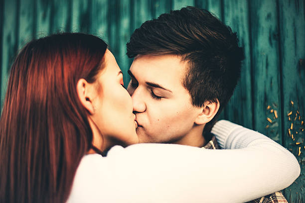 Adorable teenagers kissing Adorable teenagers kissinghttp://www.satuknape.com/wp-content/uploads/2013/02/saraphilip.jpg cute teen couple stock pictures, royalty-free photos & images