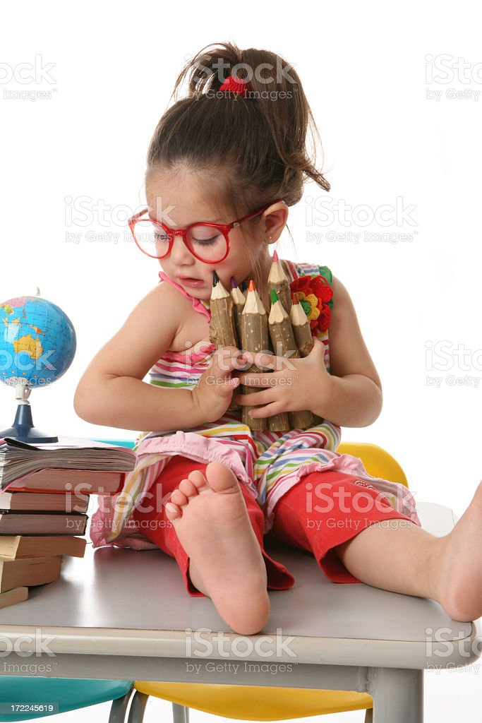 adorable toddler royalty-free stock photo