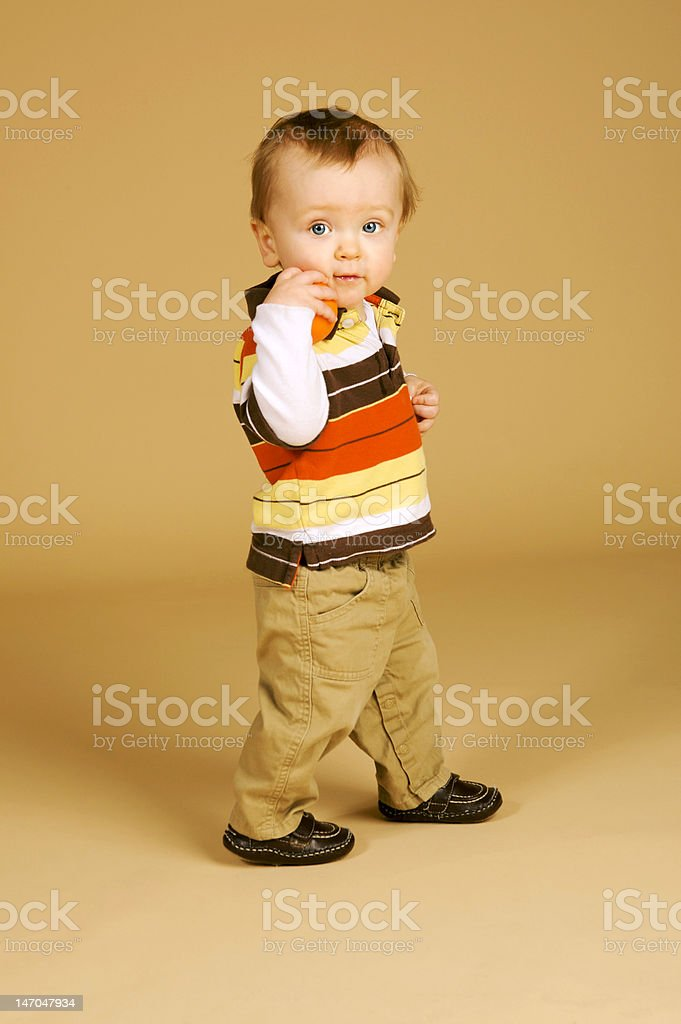 Adorable Toddler Portrait royalty-free stock photo