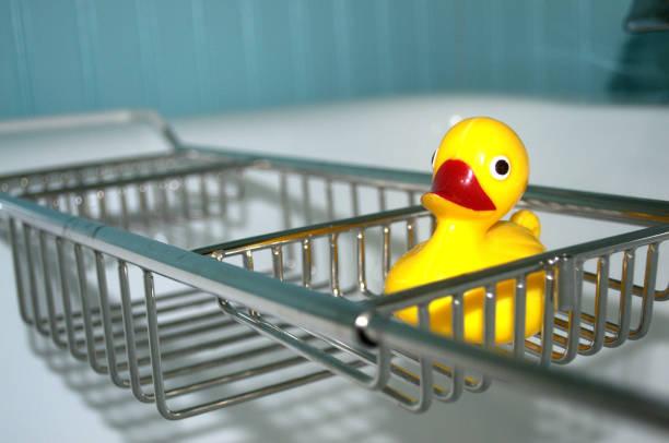 Entzückende gelb Rubber Ducky Badespielzeug – Foto