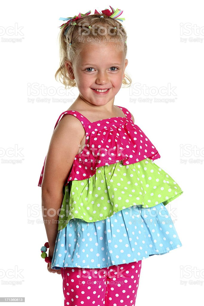 Adorable Young Girl royalty-free stock photo