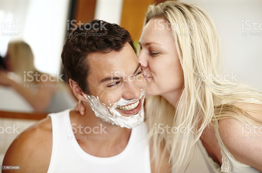 I adore my man royalty-free stock photo