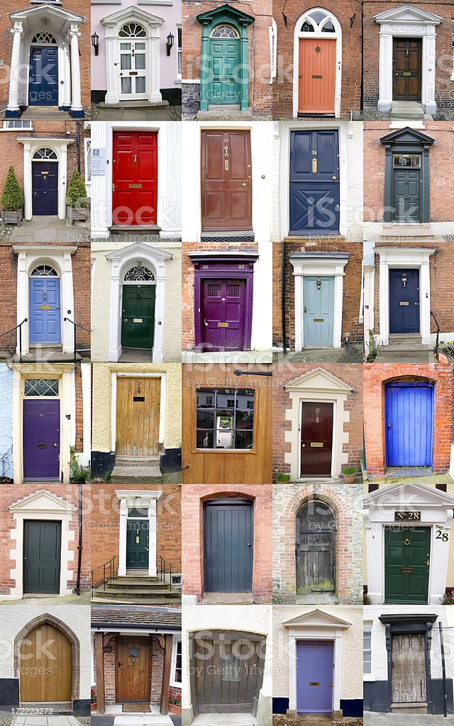 Adore The Doors - Royalty-free 18th Century Style Stock Photo