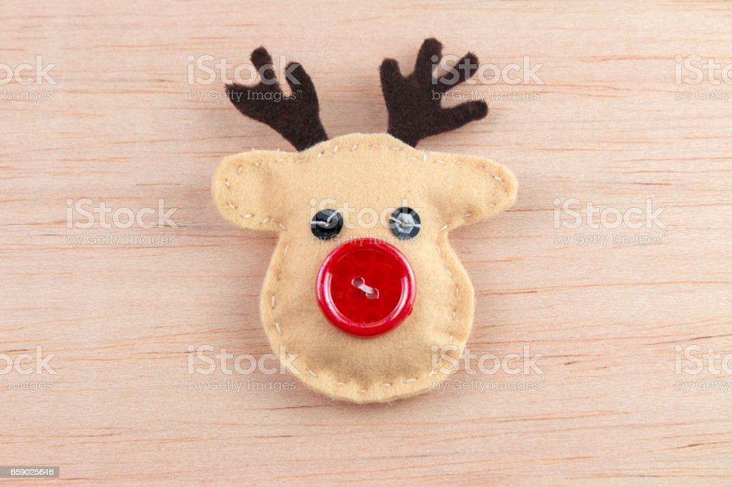 Adornos navideños stock photo