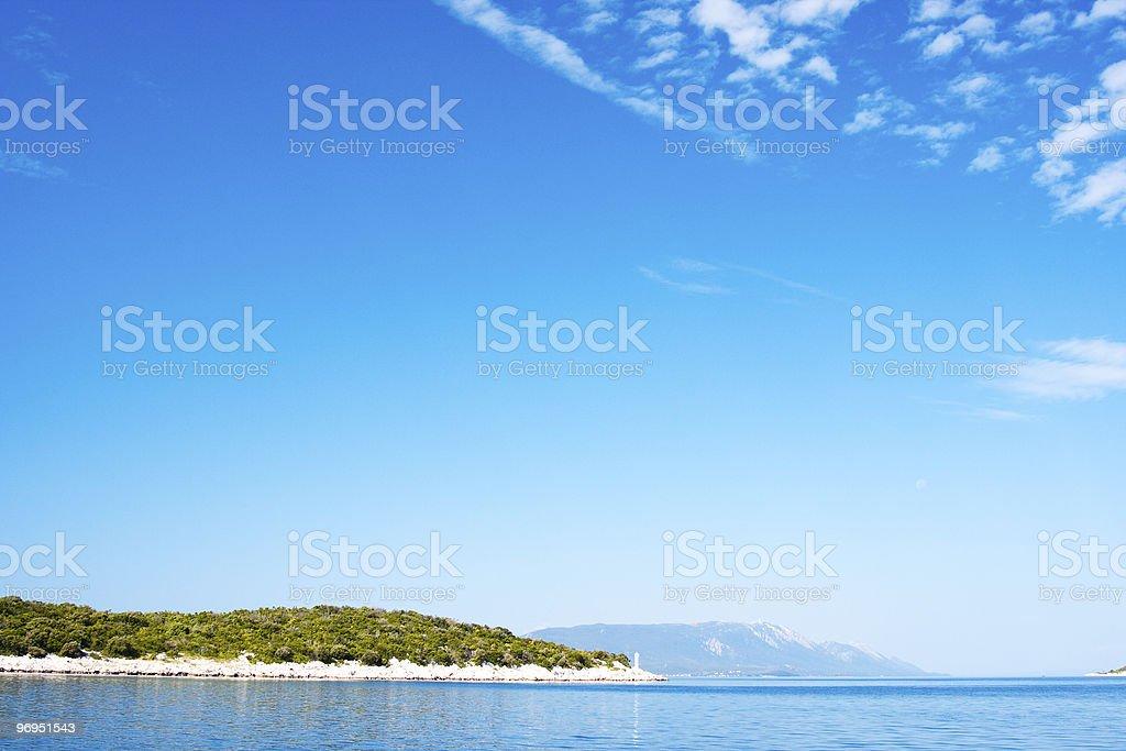 Adriatic Coast royalty-free stock photo