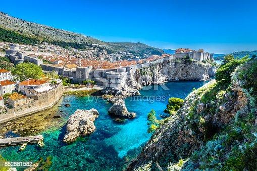 istock Adriatic Sea Dubrovnik landscape. 882881582