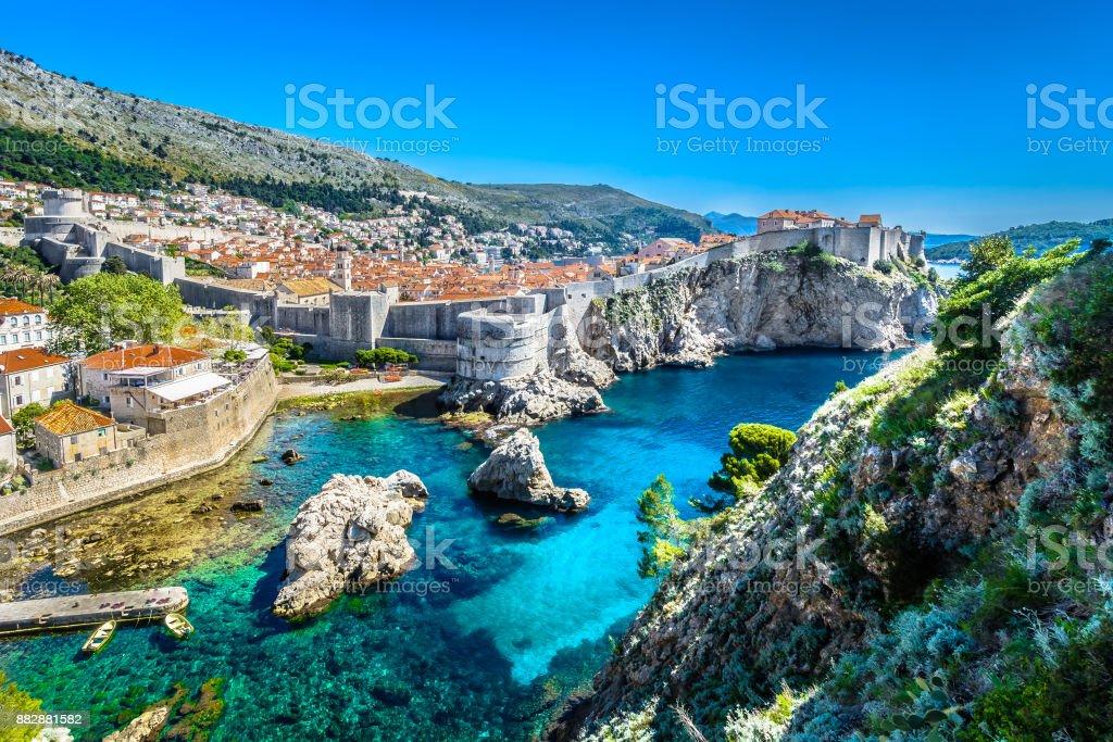 Adria-Dubrovnik-Landschaft. – Foto