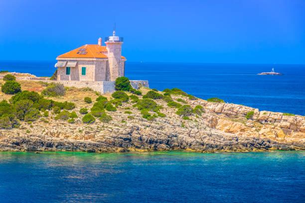 Insel der Adria Vis. – Foto