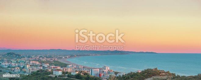 istock Adriatic seascape in Albania 935593610