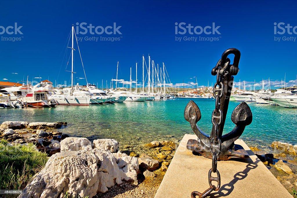 Adriatique ville de Rogoznica voile Port - Photo