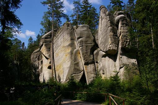 istock Adrspach rocks 997877544