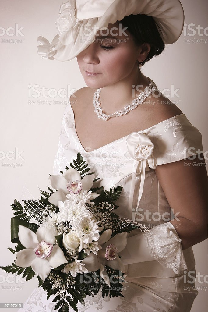 adult bride royalty-free stock photo