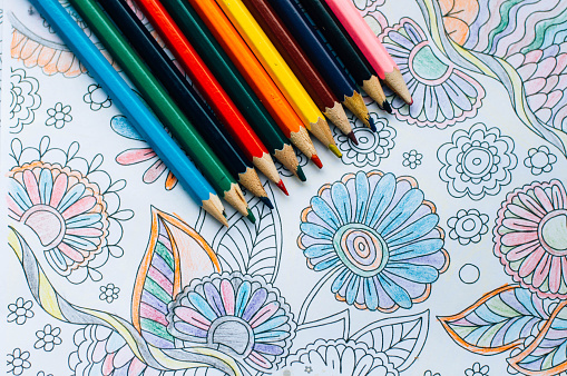 adult coloring book trend