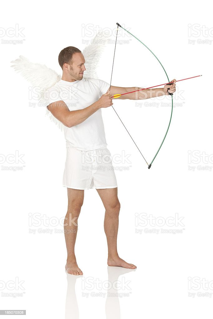 Adult cupid stock photo