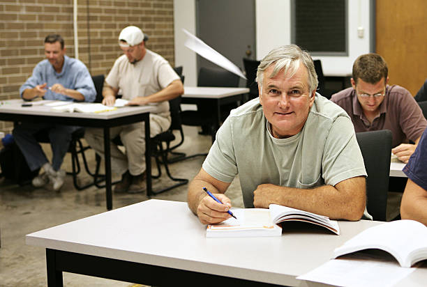 adult ed - paper airplane - adult education stock pictures, royalty-free photos & images