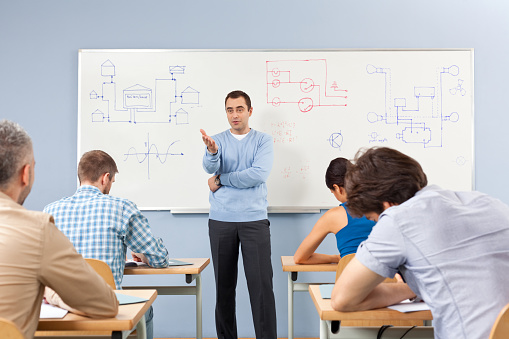Adult Ed Stock Photo - Download Image Now