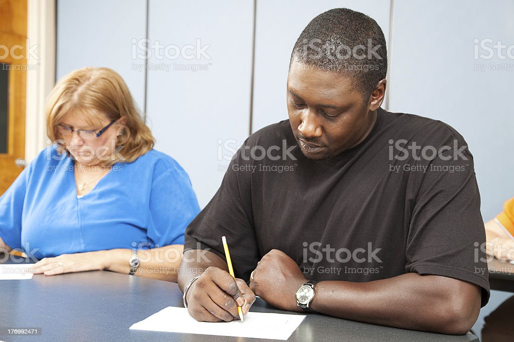 Adult Education - Diversity royalty-free stock photo