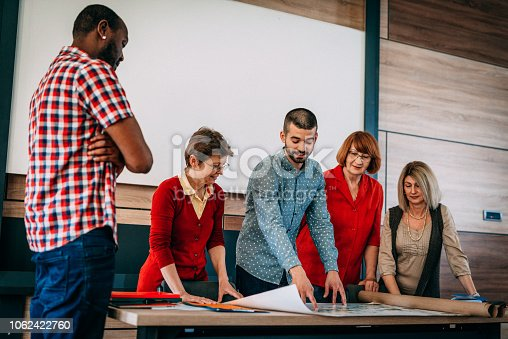 876965270istockphoto Adult education in urban planning for multi ethnic group 1062422760