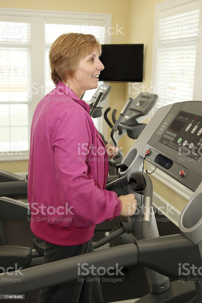 Adult Exercise royalty-free stock photo