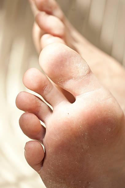 Adult Feet stock photo