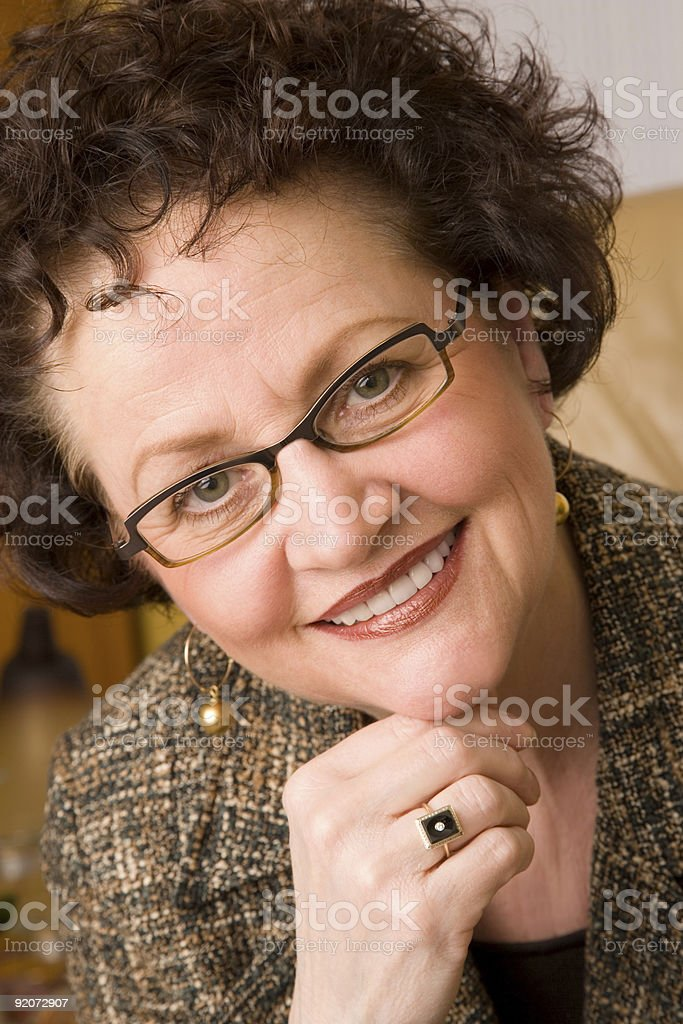 Adult Female royalty-free stock photo