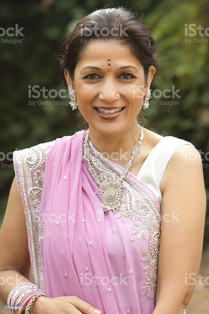 Adult Indian Woman royalty-free stock photo