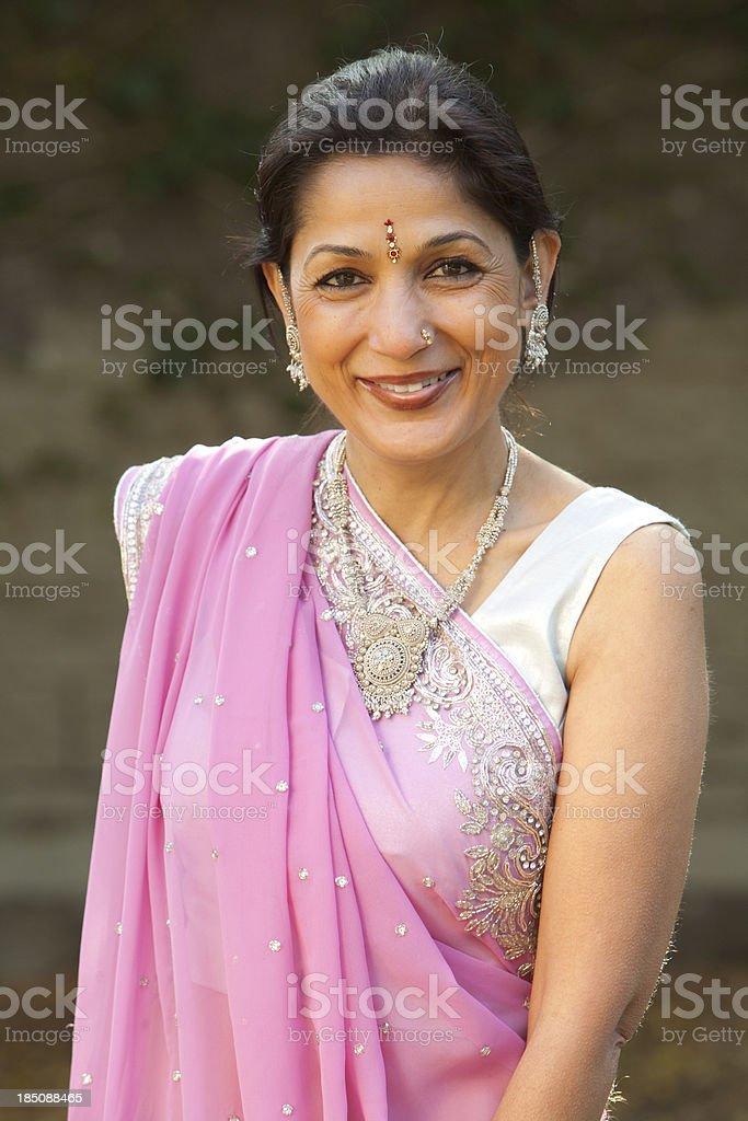 Erwachsenen indische Frau – Foto