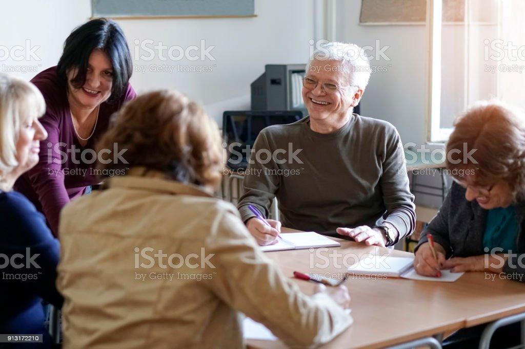 Erwachsene lernen – Foto
