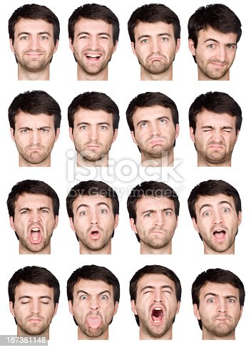 Statistical manual of facial expressions