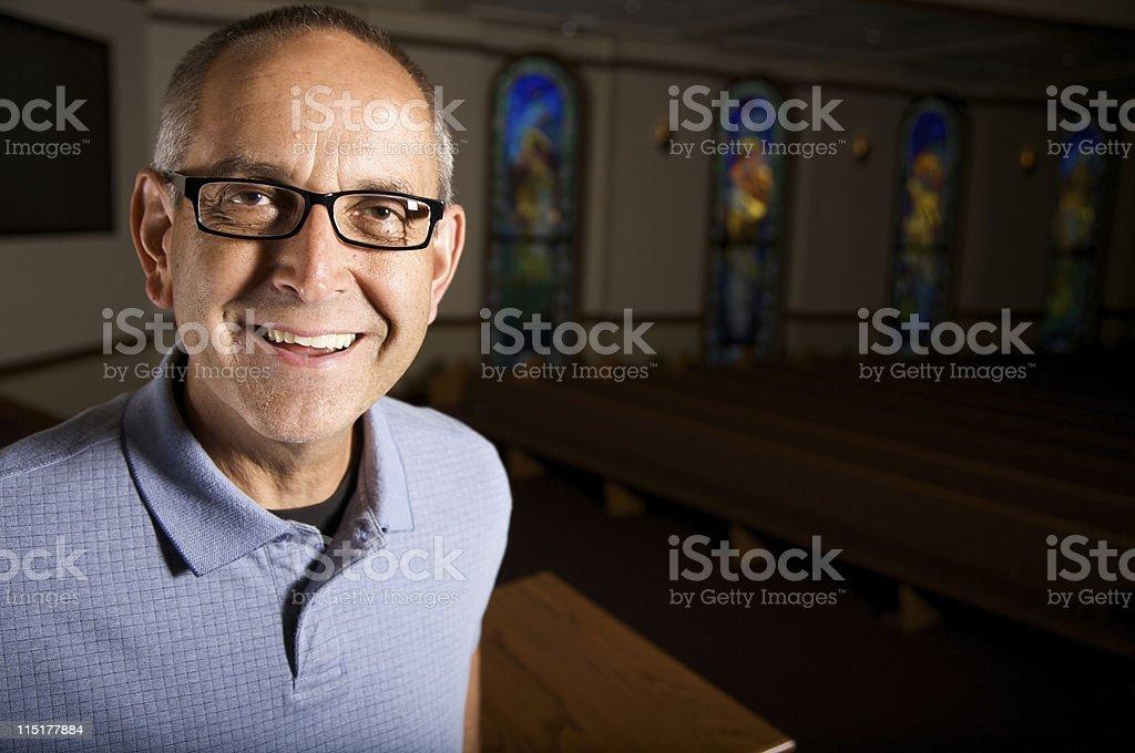 adult male teacher stock photo