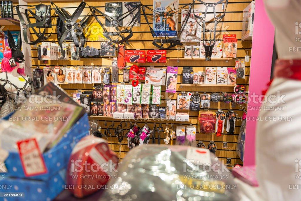 Erwachsenen-Shop und Produkte – Foto