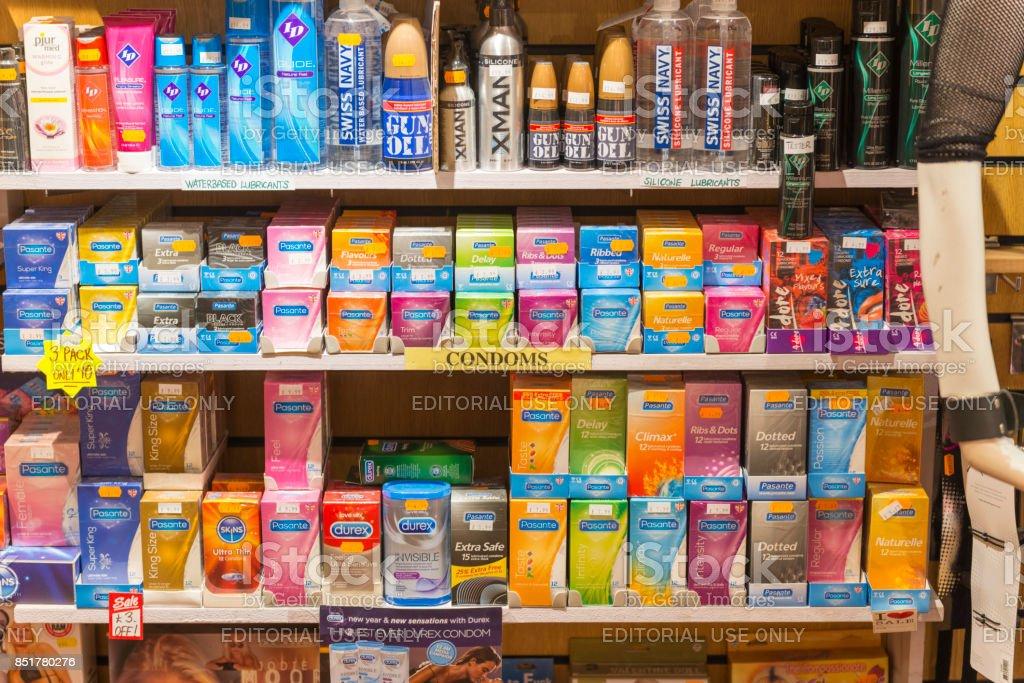 Erwachsenen-Shop Produkte – Foto