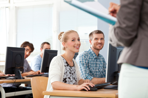 Adult Students Stock Photo - Download Image Now