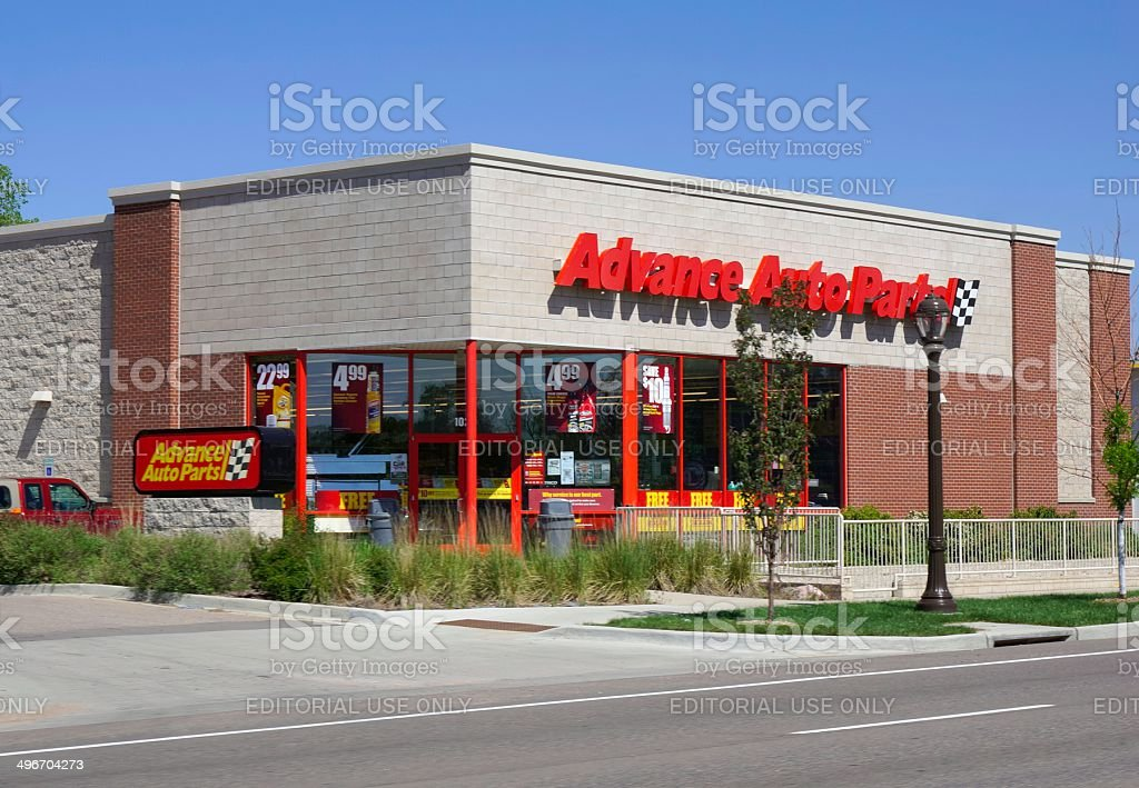 Advance Auto Parts stock photo