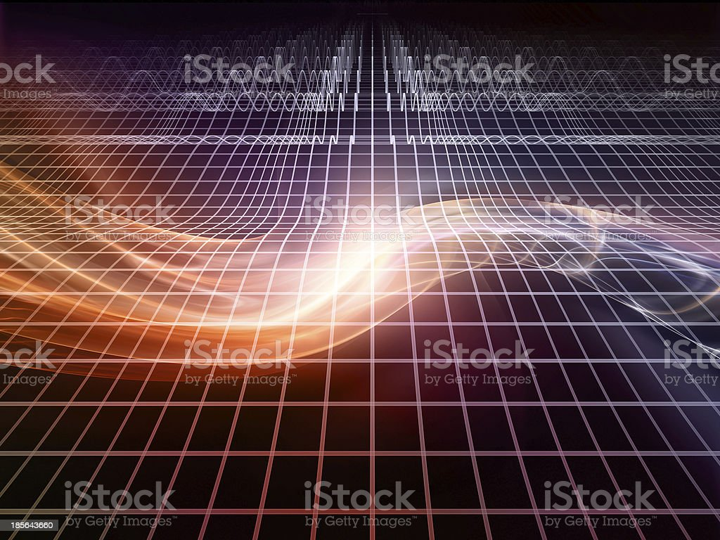 Advance of Fractal Realms royalty-free stock photo