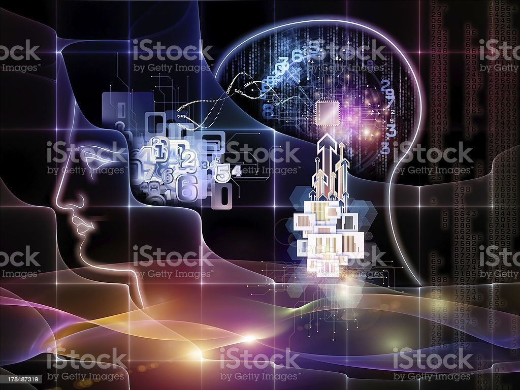 Advance of Knowledge royalty-free stock photo