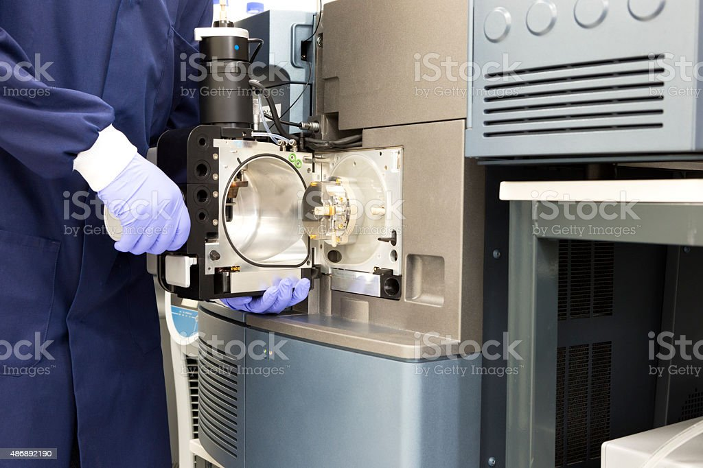 Advanced Medical Technology Testing stock photo