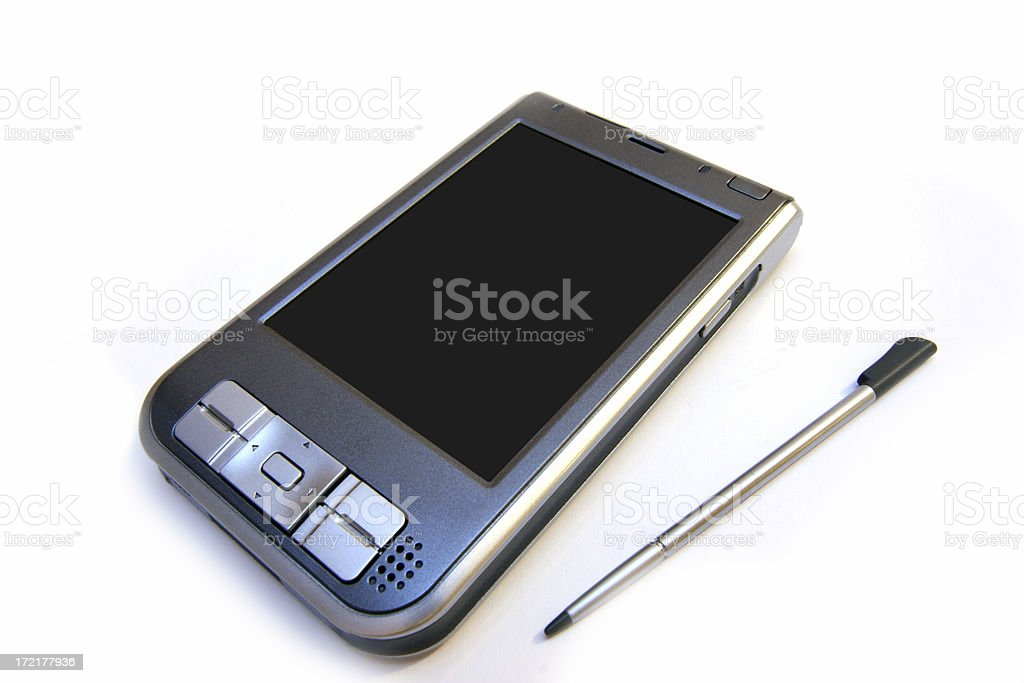 Advanced PDA - Loox royalty-free stock photo