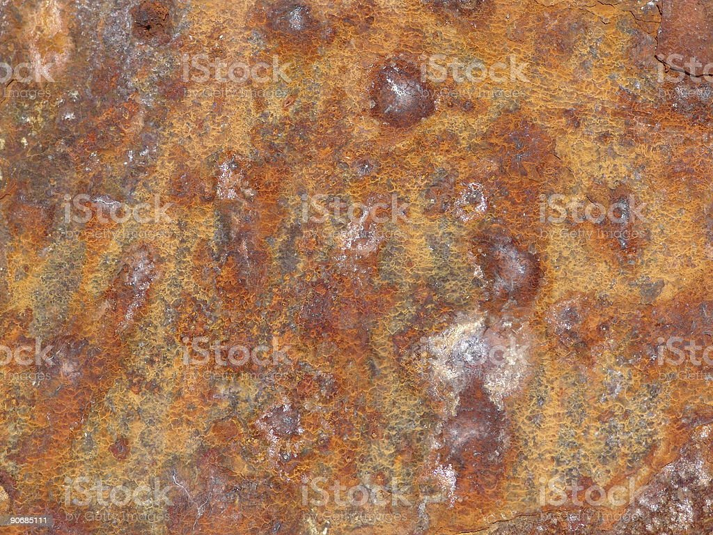 Advanced RUST 2 royalty-free stock photo