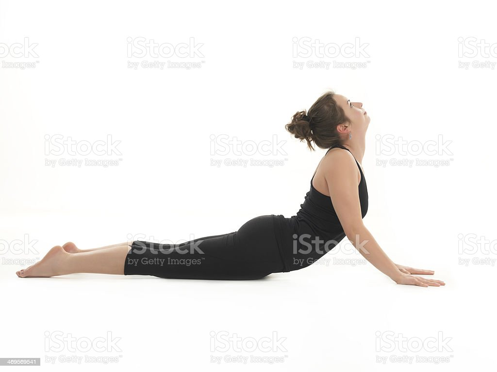 Advanced Yoga Pose Royalty Free Stock Photo