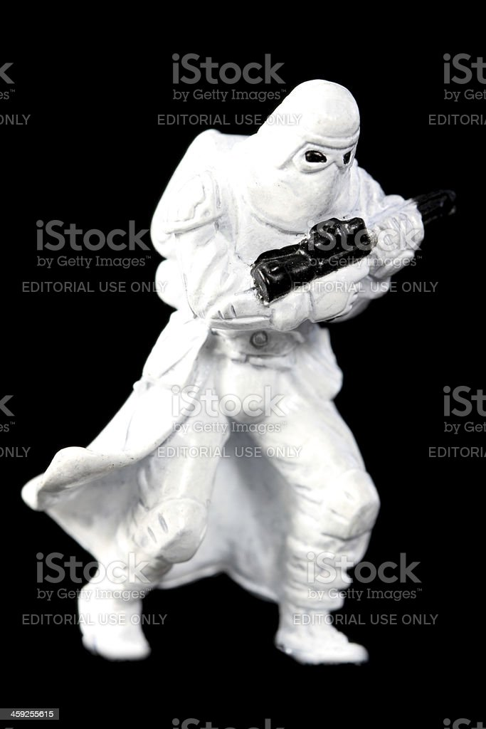 Advancing Trooper royalty-free stock photo