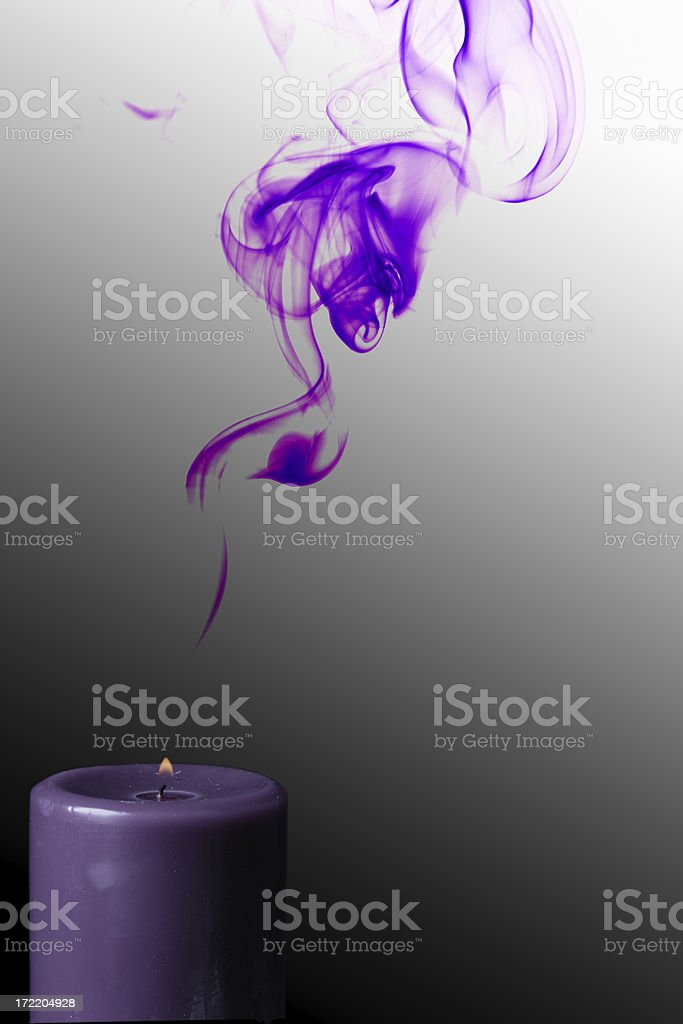 Advent Candle royalty-free stock photo