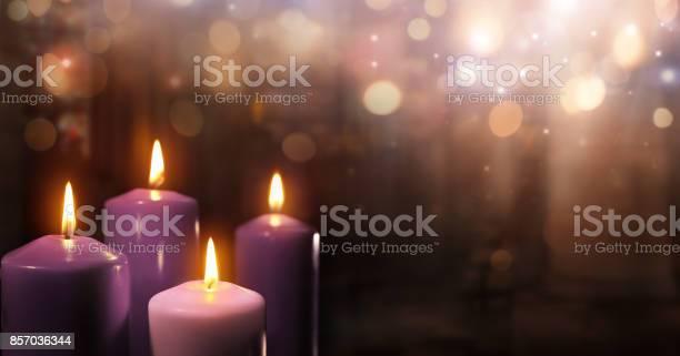 Three Purple And One Pink As A Catholic Symbol
