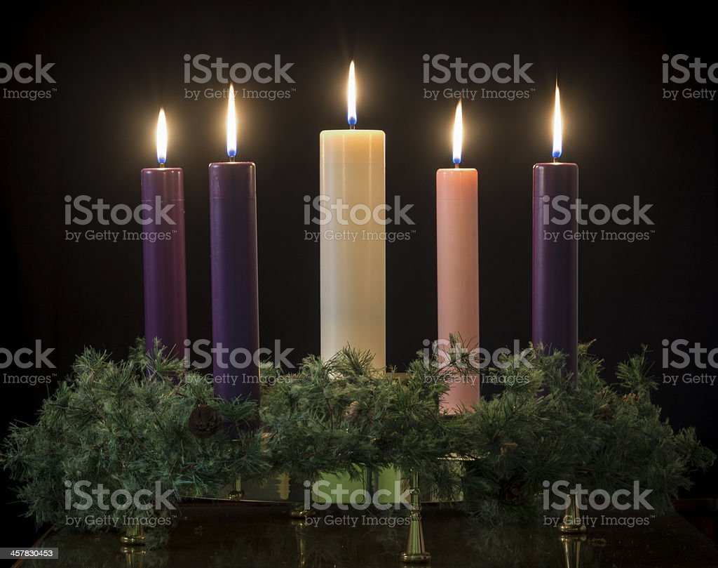 Advent Kerzen – Foto