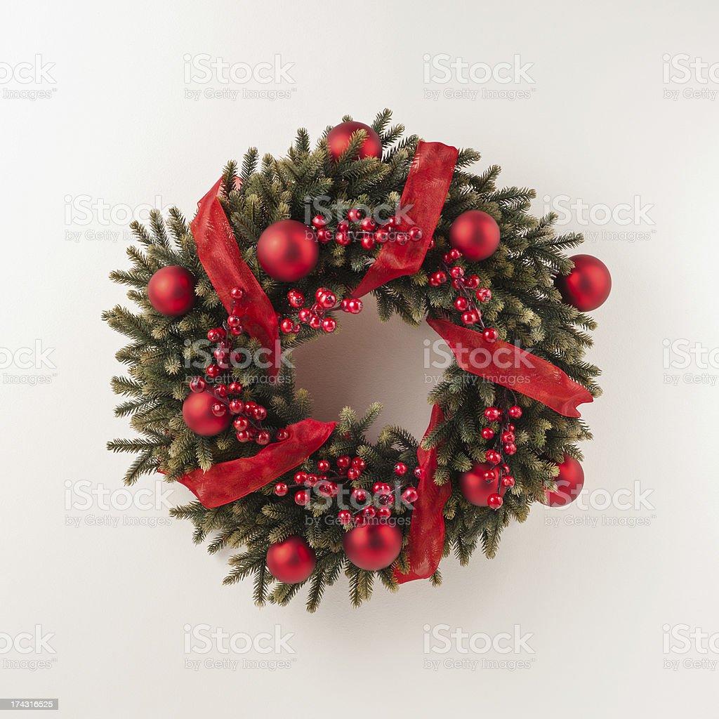 Advent Christmas wreath royalty-free stock photo