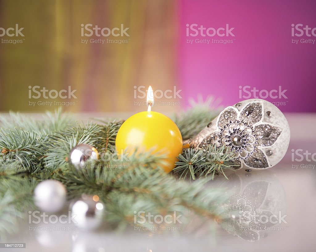 Advent gift royalty-free stock photo